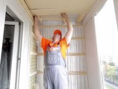 utepelenie-potolka-na-balkone-svoimi-rukami
